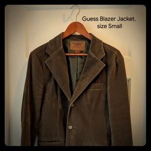 Guess Velour Blazer jacket